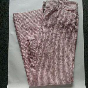 J crew pants size 10 seersucker